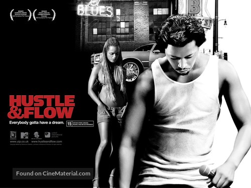 Hustle And Flow - British Movie Poster