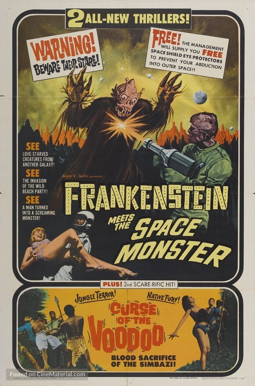 Frankenstein movie poster 11 x 17