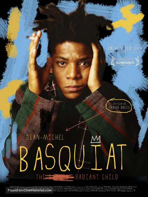 Jean-Michel Basquiat: The Radiant Child - French Movie Poster