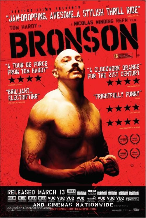 Bronson - British Movie Poster