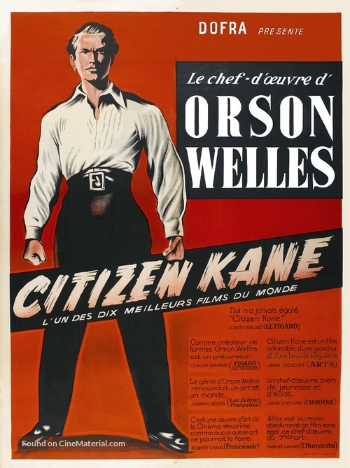 Citizen Kane - French Movie Poster