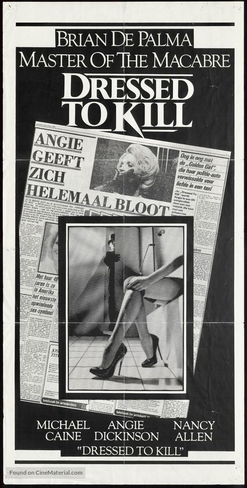Dressed to Kill - German poster