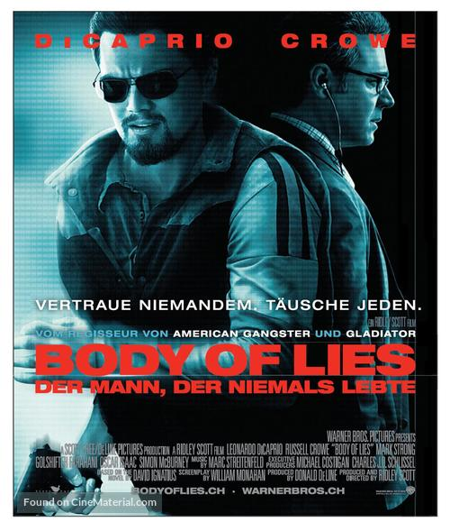 Body of Lies - Swiss Movie Poster