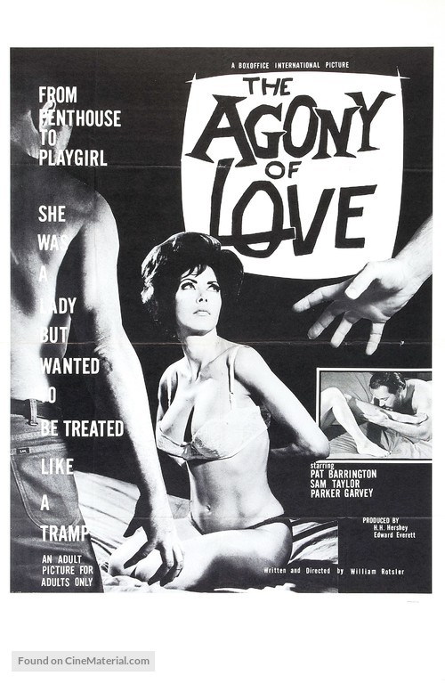 The Agony of Love - Movie Poster
