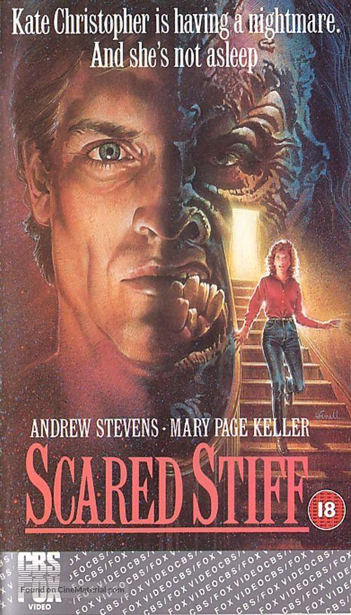 Scared Stiff - British VHS movie cover