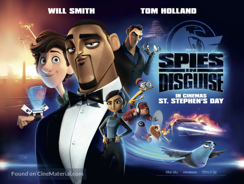 Spies In Disguise Movie Poster GLOSSY FINISH Posters USA MCP989