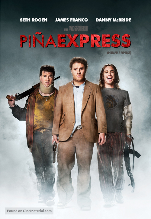 Pineapple Express - Argentinian Movie Cover