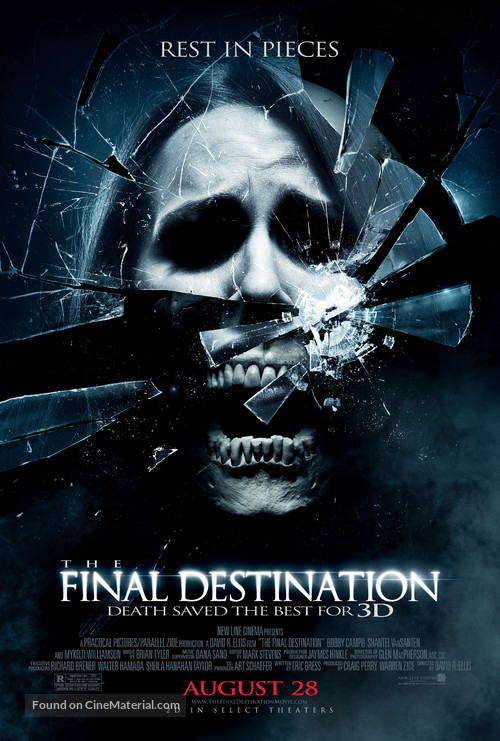 The Final Destination - Advance movie poster
