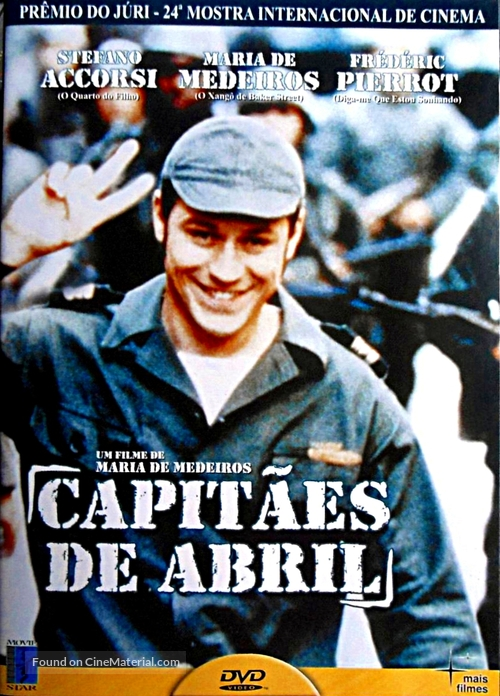 Capitães de Abril - Brazilian DVD cover