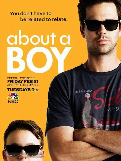 """""""About a Boy"""" - Movie Poster"""