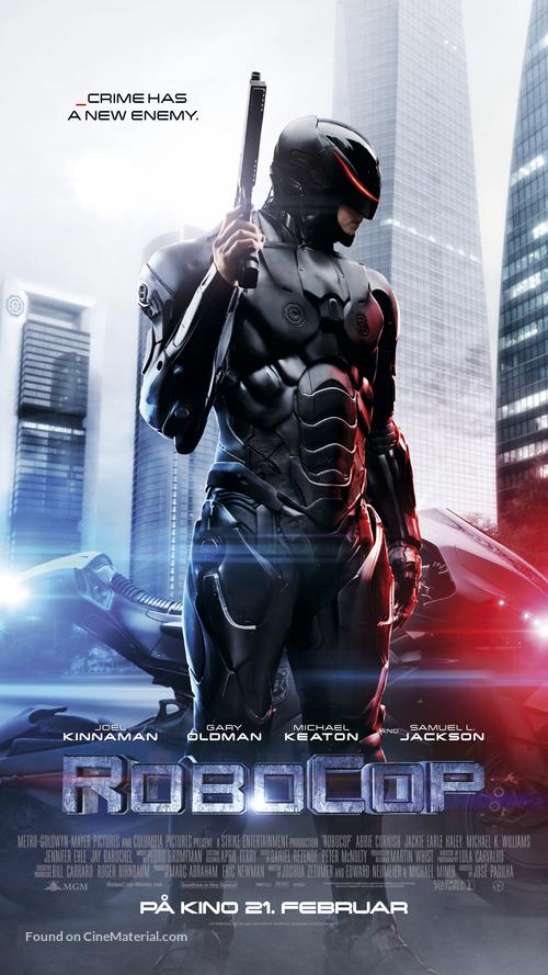 RoboCop - Norwegian Movie Poster