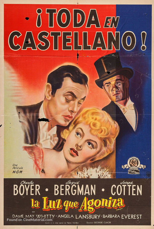 Gaslight - Argentinian Movie Poster