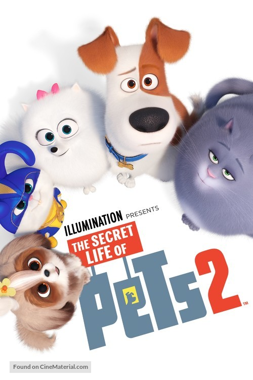 The Secret Life of Pets 2 - Movie Cover