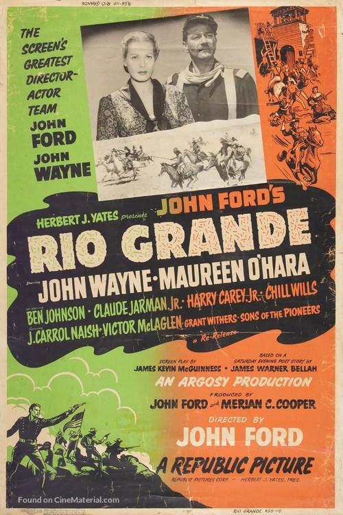Rio Grande - Movie Poster