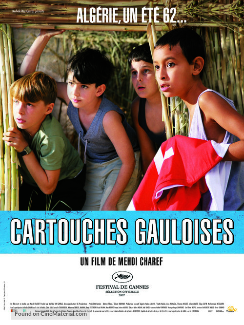 Cartouches gauloises - French poster