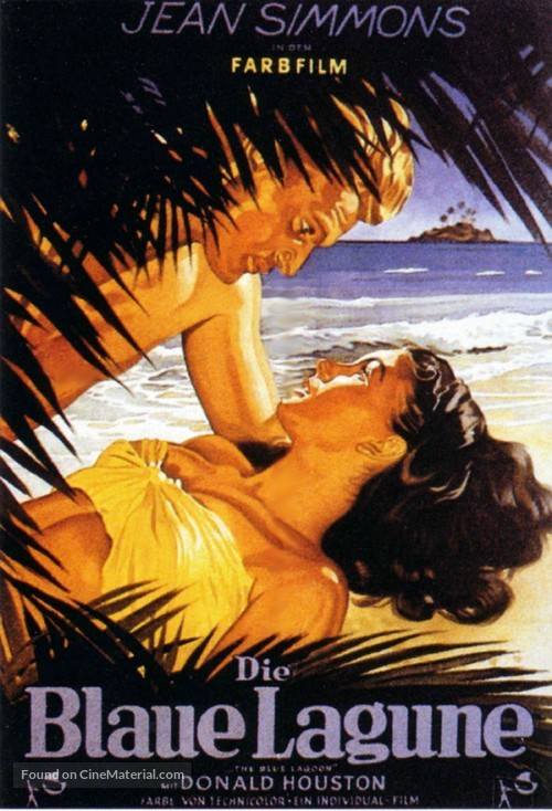 The Blue Lagoon - German Movie Poster