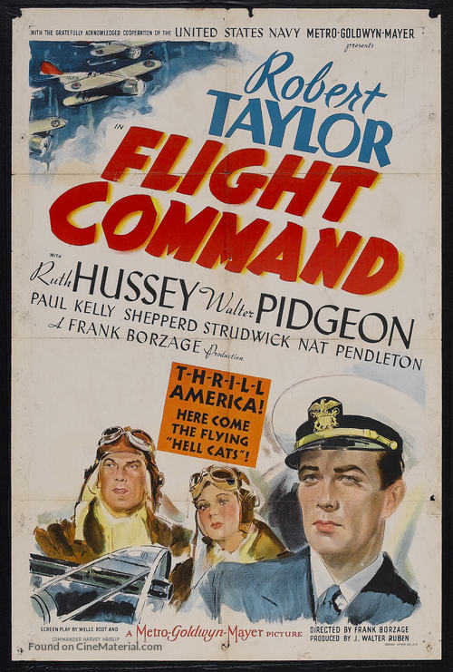Flight Command - Movie Poster