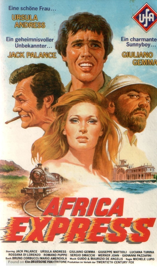 Africa Express - German Movie Cover