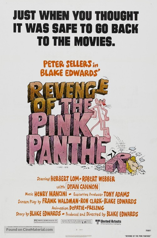 Revenge of the Pink Panther - Movie Poster