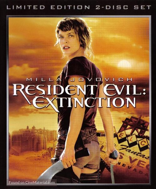 Resident Evil: Extinction - Movie Cover