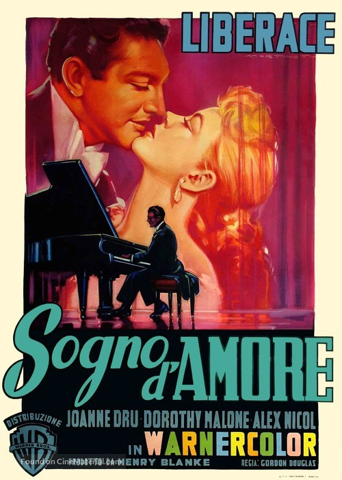 Sincerely Yours - Italian Movie Poster