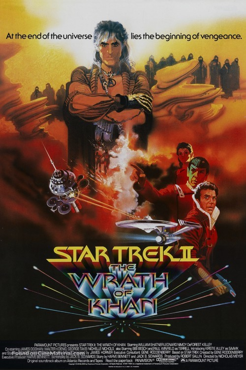 Star Trek: The Wrath Of Khan - British Movie Poster