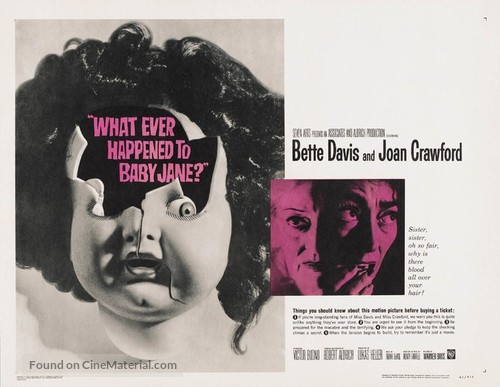 What Ever Happened to Baby Jane? - British Movie Poster
