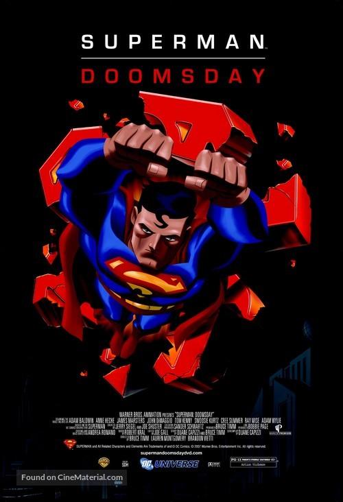 superman doomsday movie poster