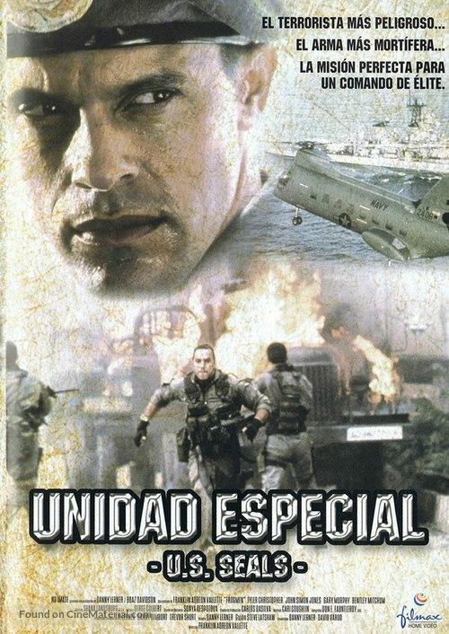 Frogmen Operation Stormbringer - Spanish Movie Cover