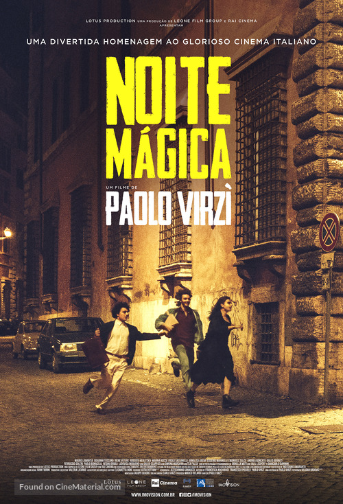 Notti magiche - Brazilian Movie Poster