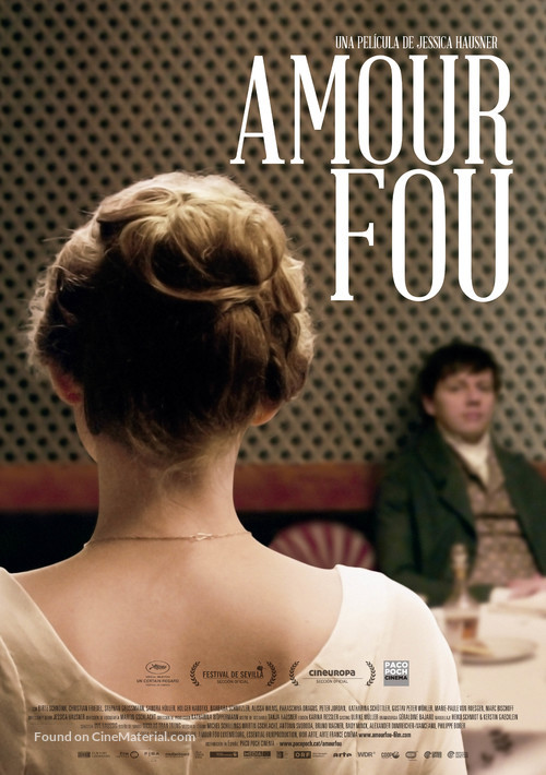 Amour fou - Spanish Movie Poster