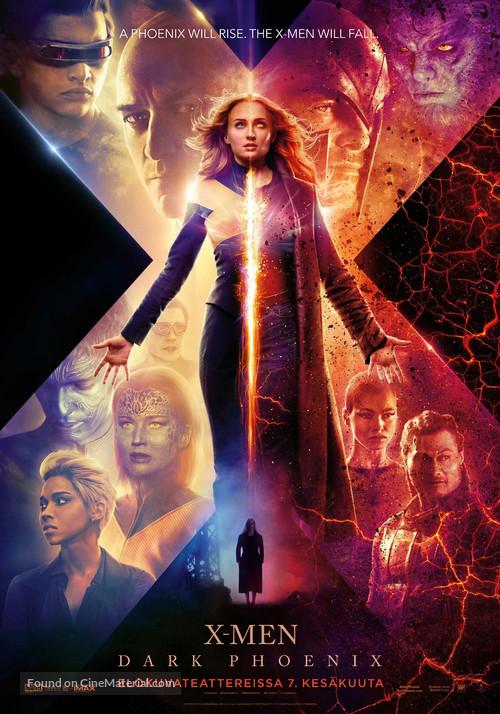 Dark Phoenix - Finnish Movie Poster