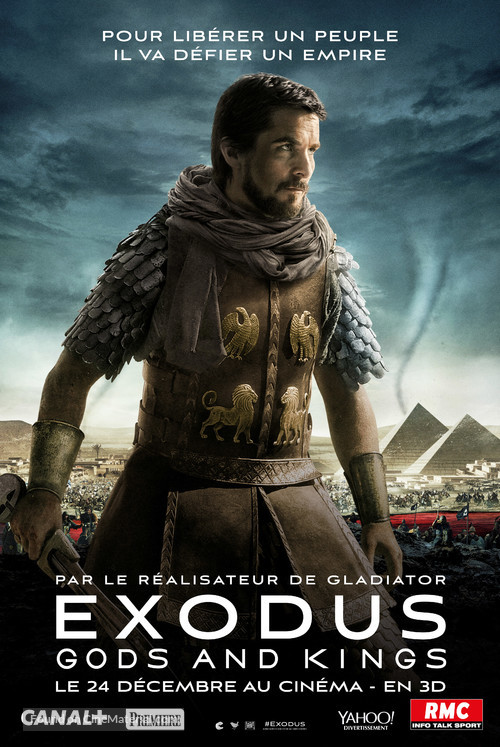 Exodus Gods And Kings 2014 French Movie Poster