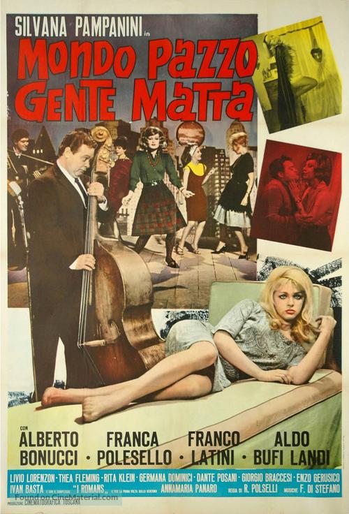 Mondo pazzo... gente matta! - Italian Movie Poster