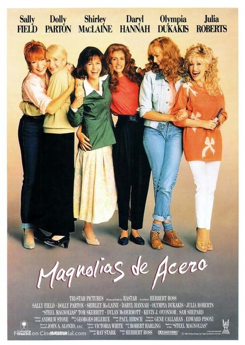 Steel Magnolias - Spanish Movie Poster