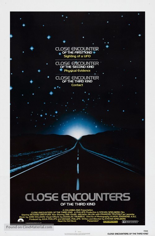 Close Encounters of the Third Kind - Theatrical poster