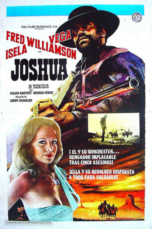 Joshua - Spanish Movie Poster