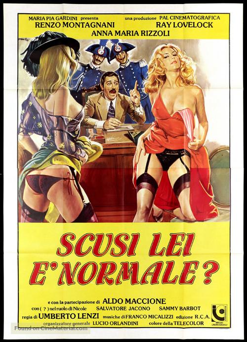 Scusi, lei è normale? - Italian Movie Poster