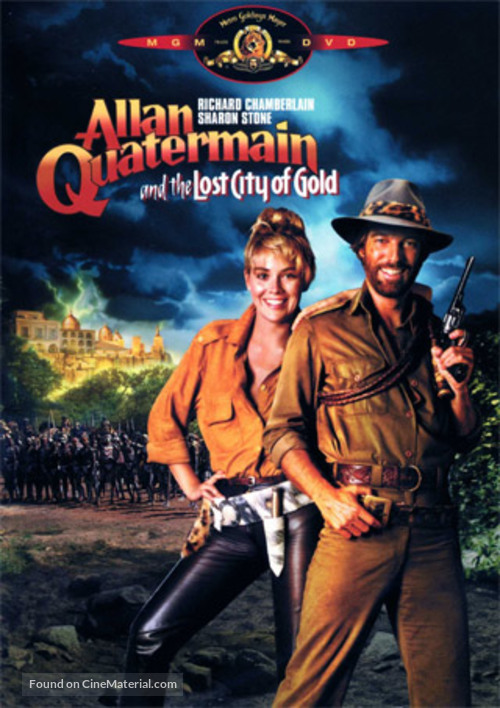 Allan Quatermain and the Lost City of Gold - DVD movie cover