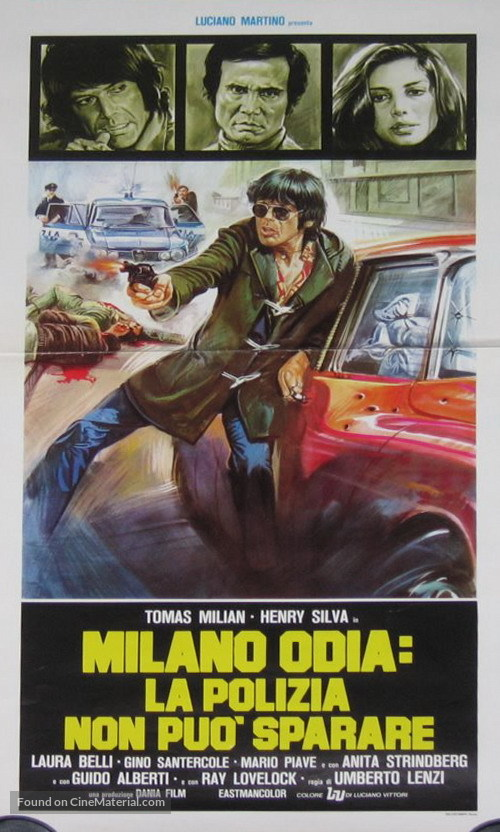 Milano odia: la polizia non può sparare - Italian Movie Poster