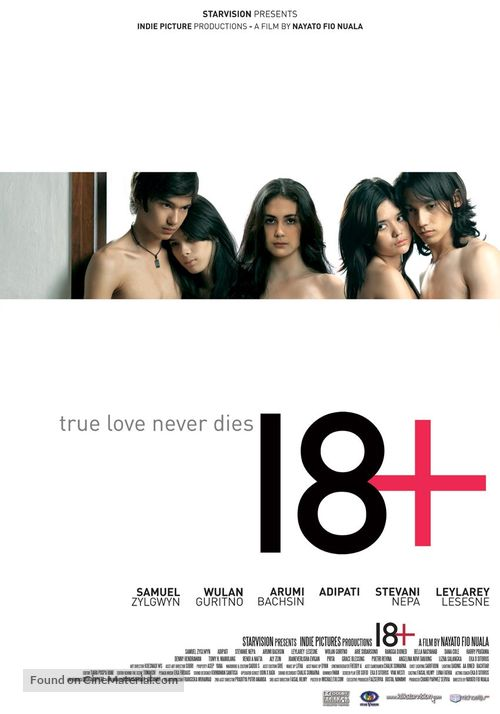 18+ - Indonesian Movie Poster