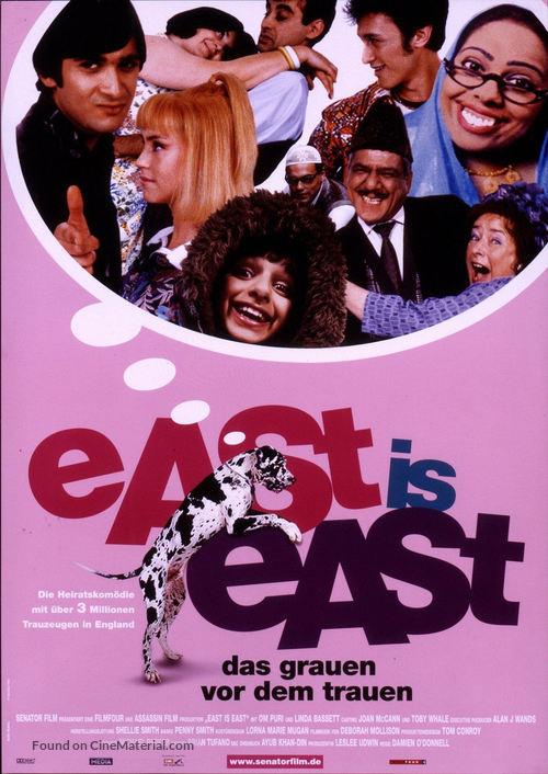 East Is East - German Movie Poster