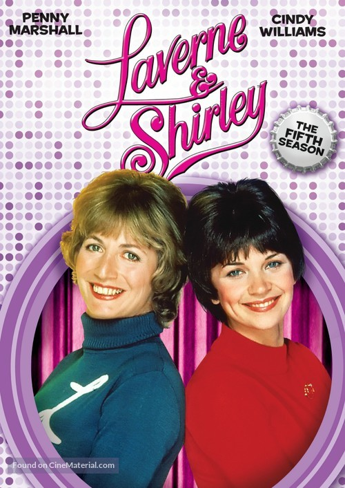 """""""Laverne & Shirley"""" - DVD movie cover"""