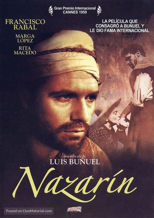 Nazarín - Spanish DVD movie cover