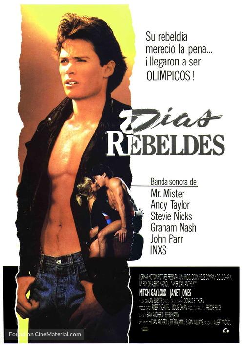 American Anthem - Spanish Movie Poster