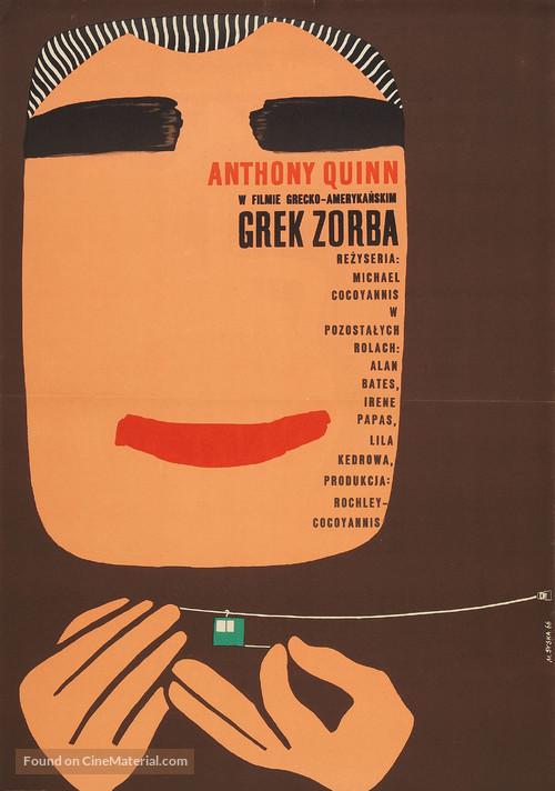 Alexis Zorbas - Polish Movie Poster