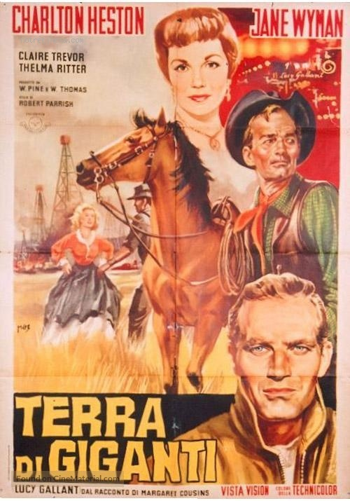 Lucy Gallant - Italian Movie Poster