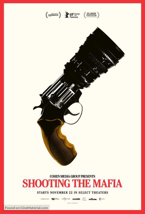 Shooting the Mafia - Movie Poster