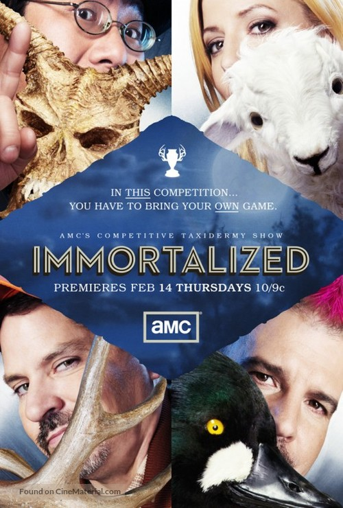 """""""Immortalized"""" - Movie Poster"""