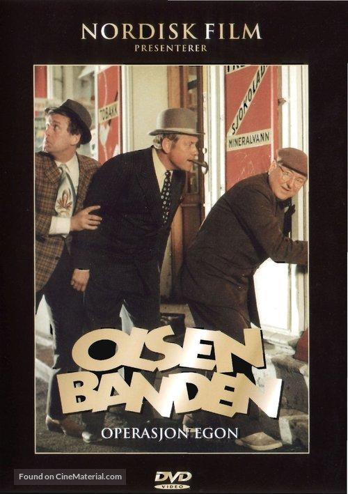Olsen-bandens store kup - Norwegian DVD cover